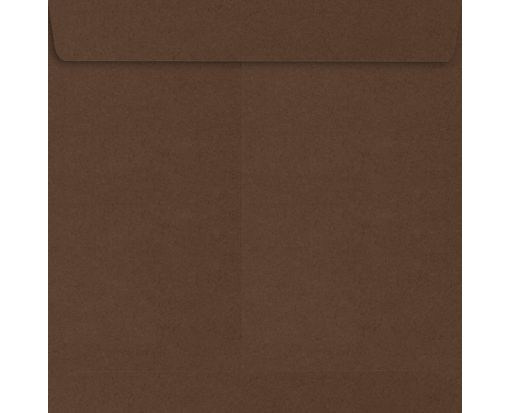 7 1/2 x 7 1/2 Square Envelopes Chocolate