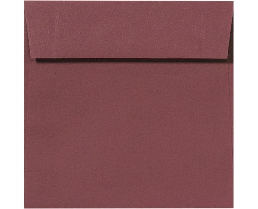 7 1/2 x 7 1/2 Square Envelopes Wine