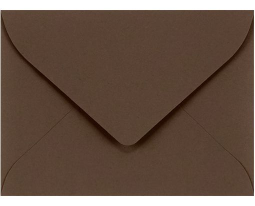 #17 Mini Envelope (2 11/16 x 3 11/16) Chocolate