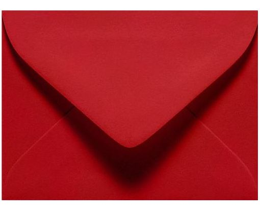 #17 Mini Envelope (2 11/16 x 3 11/16) Ruby Red