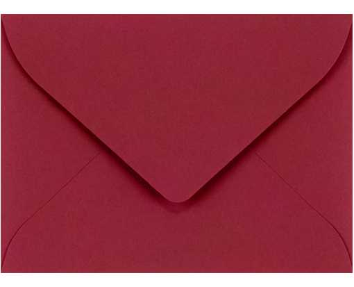 #17 Mini Envelope (2 11/16 x 3 11/16) Garnet