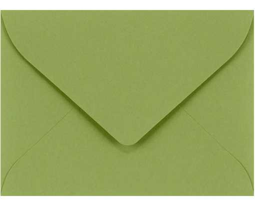 #17 Mini Envelope (2 11/16 x 3 11/16) Avocado