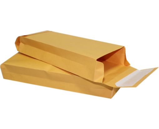 5 x 11 x 2 Expansion Envelopes 40lb. Brown Kraft