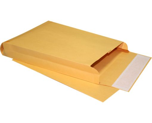 10 x 13 x 2 Expansion Envelopes 40lb. Brown Kraft