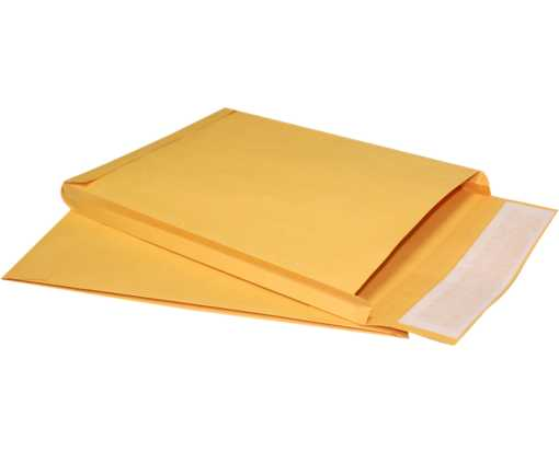 9 x 12 x 1 Expansion Envelopes 40lb. Brown Kraft