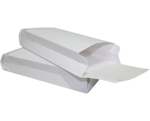 5 x 11 x 2 Expansion Envelopes 40lb. White Kraft