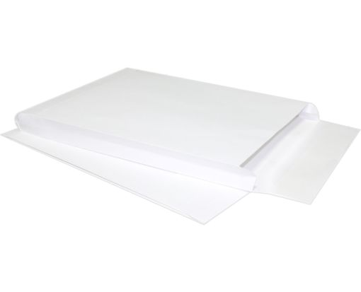 9 x 12 x 1 Expansion Envelopes 40lb. White Kraft