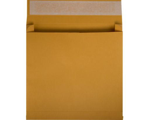 10 x 13 x 2 Booklet Expansion Envelopes 40lb. Brown Kraft