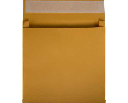 10 x 15 x 2 Booklet Expansion Envelopes 40lb. Brown Kraft