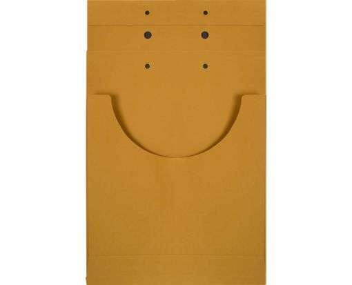 9 x 9 x 1 Retention Jackets 40lb. Brown Kraft