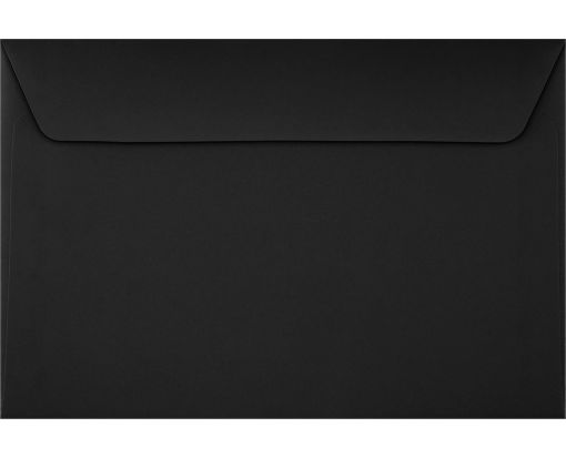 6 x 9 Booklet Envelopes Midnight Black