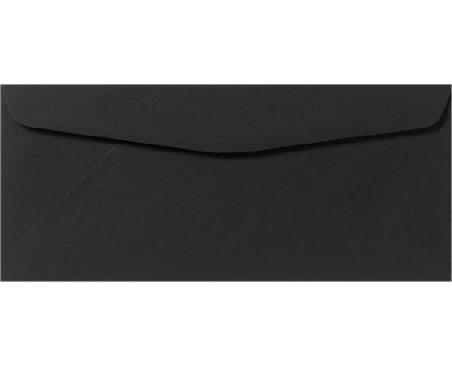 #9 Regular Envelopes (3 7/8 x 8 7/8) Midnight Black