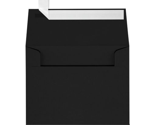 A2 Invitation Envelopes (4 3/8 x 5 3/4) Midnight Black