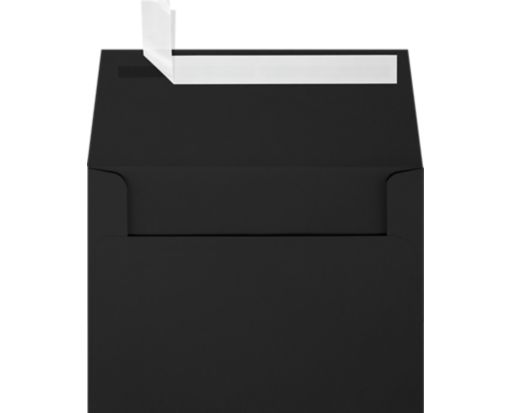 A6 Invitation Envelopes (4 3/4 x 6 1/2) Midnight Black