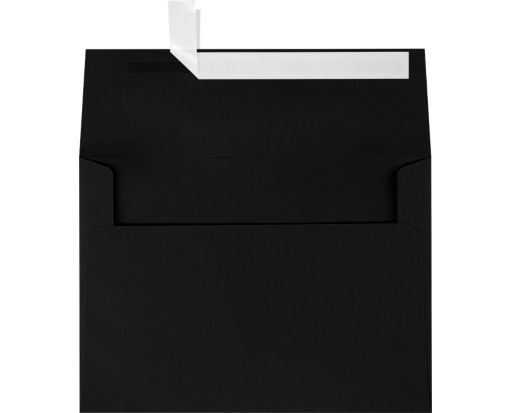 A7 Invitation Envelopes (5 1/4 x 7 1/4) Midnight Black