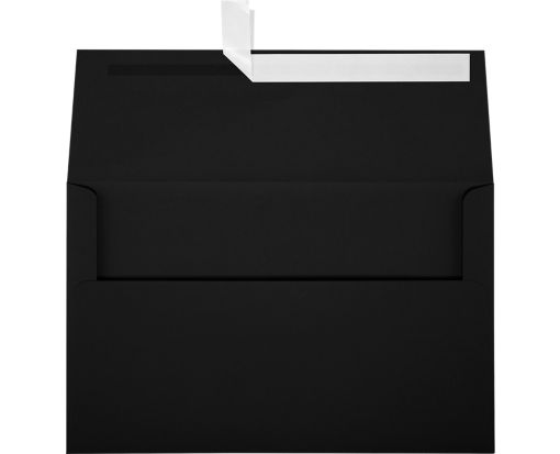 A10 Invitation Envelopes (6 x 9 1/2) Midnight Black