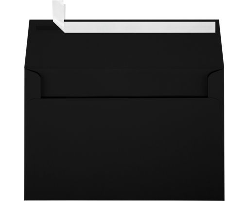 A9 Invitation Envelopes (5 3/4 x 8 3/4) Midnight Black