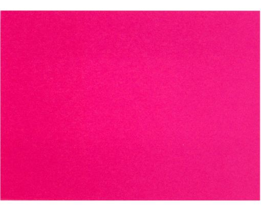 A7 Flat Card (5 1/8 x 7 ) Hottie Pink