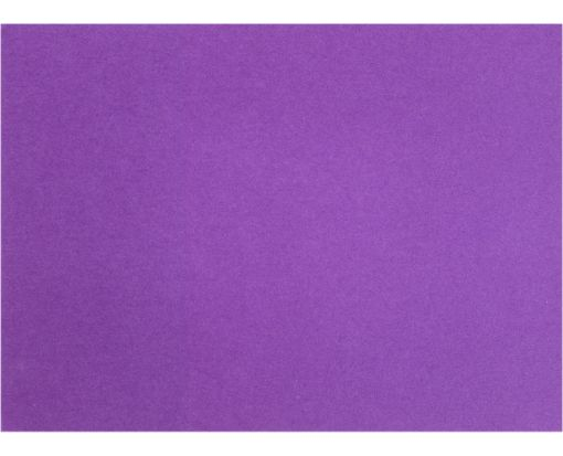 A7 Flat Card (5 1/8 x 7 ) Purple Power