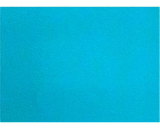 A7 Flat Card (5 1/8 x 7 ) Trendy Teal