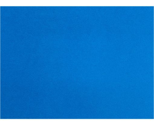 A9 Flat Card (5 1/2 x 8 1/2) Boutique Blue
