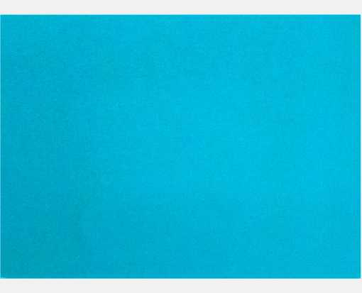 A9 Flat Card (5 1/2 x 8 1/2) Trendy Teal