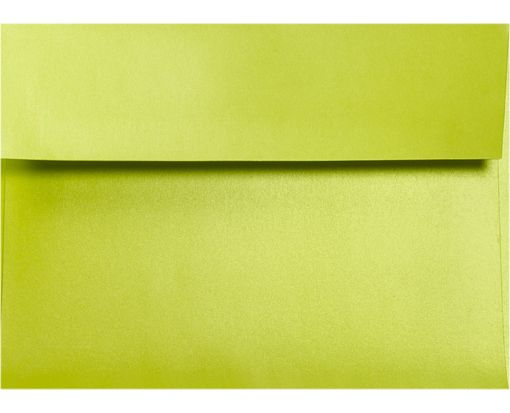 A6 Invitation Envelopes (4 3/4 x 6 1/2)  Glowing Green