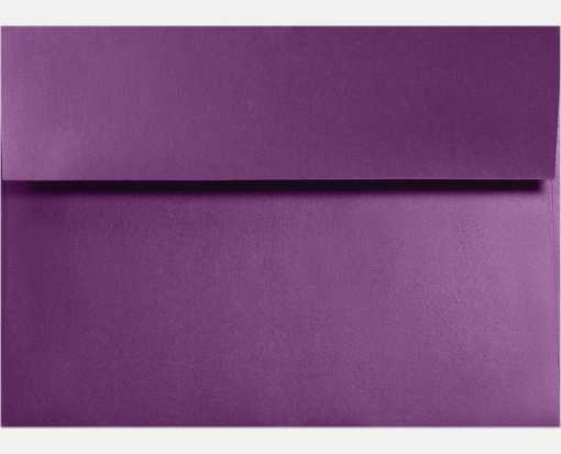 A6 Invitation Envelopes (4 3/4 x 6 1/2)  Purple Power