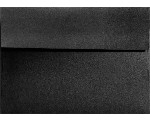 A7 Invitation Envelopes (5 1/4 x 7 1/4) Black Satin