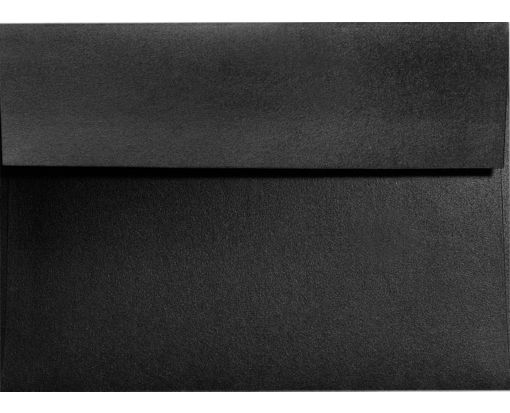 A9 Invitation Envelopes (5 3/4 x 8 3/4) Black Satin