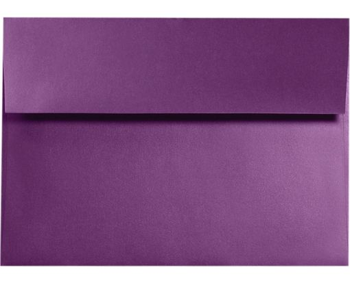 A9 Invitation Envelopes (5 3/4 x 8 3/4) Purple Power