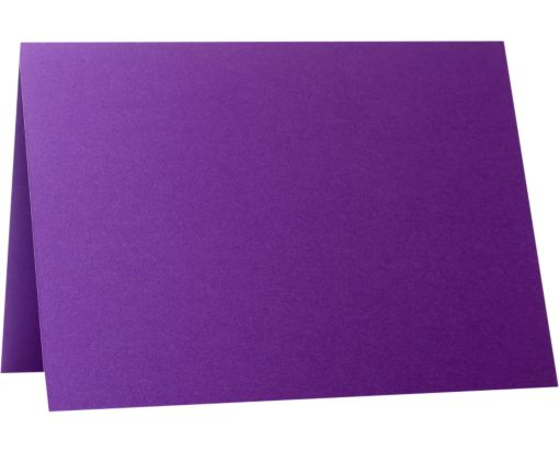 A7 Folded Card (5 1/8 x 7 ) Purple Power