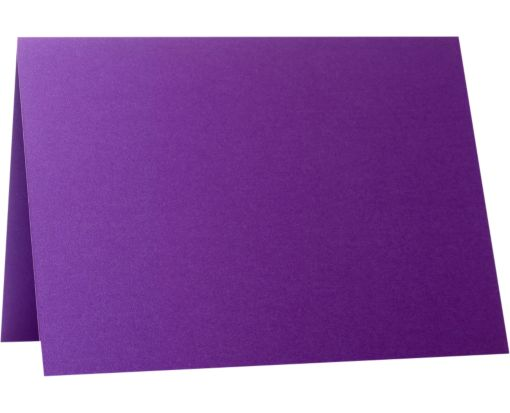 A9 Folded Card (5 1/2 x 8 1/2) Purple Power