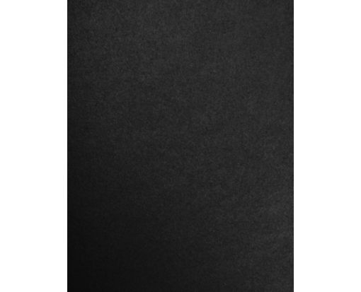 8 1/2 x 11 Cardstock Black Satin