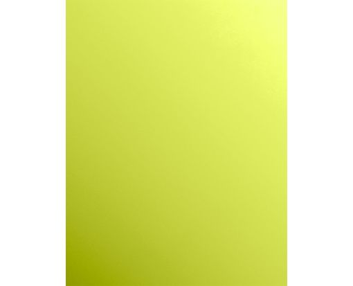 8 1/2 x 11 Cardstock Glowing Green