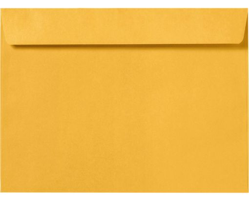 9 x 12 Booklet Envelopes Bright Gold