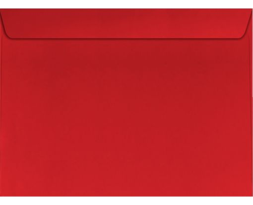 9 x 12 Booklet Envelopes Holiday Red