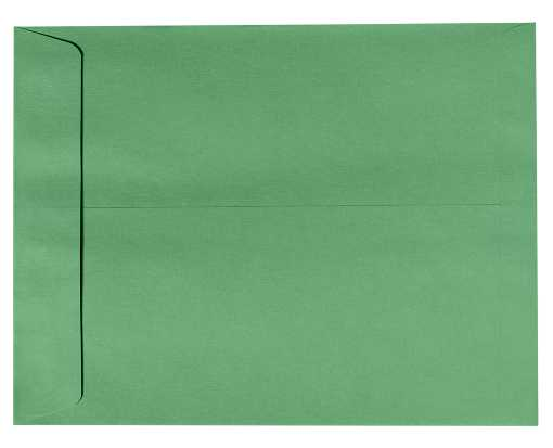 9 x 12 Open End Envelopes Holiday Green