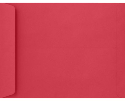 9 x 12 Open End Envelopes Holiday Red