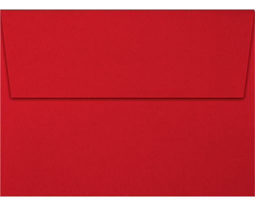 A6 Invitation Envelopes (4 3/4 x 6 1/2) Holiday Red