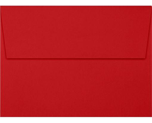 A7 Invitation Envelopes (5 1/4 x 7 1/4) Holiday Red