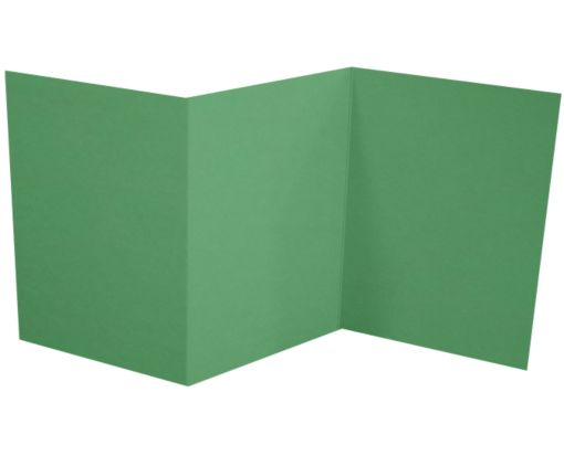 A7 Z-Fold Invitation (5 x 7) Holiday Green