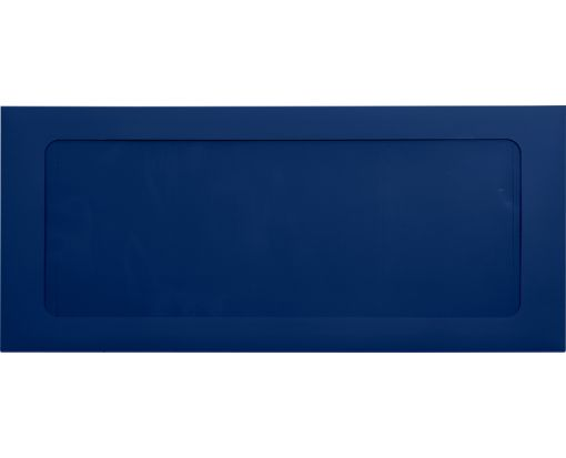 #10 Full Face Window Envelopes Navy