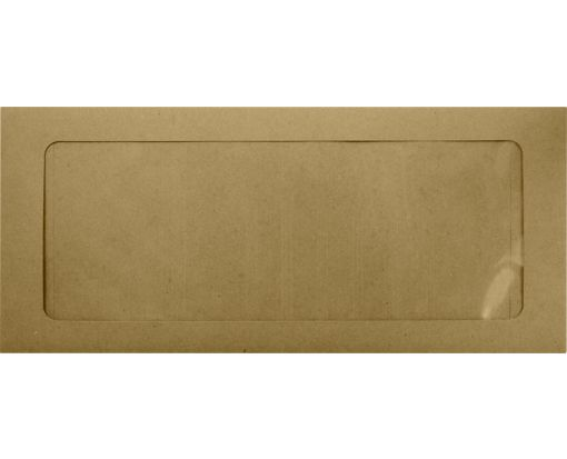 #10 Full Face Window Envelopes Grocery Bag