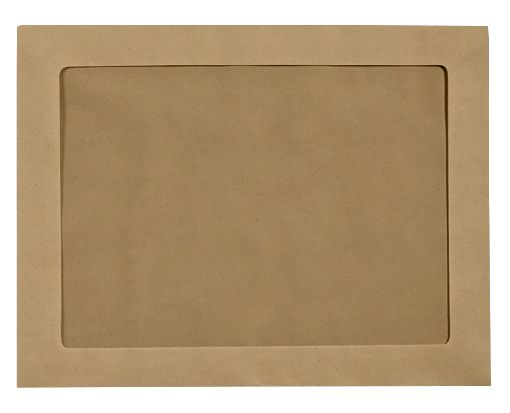 10 x 13 Full Face Window Envelopes Grocery Bag