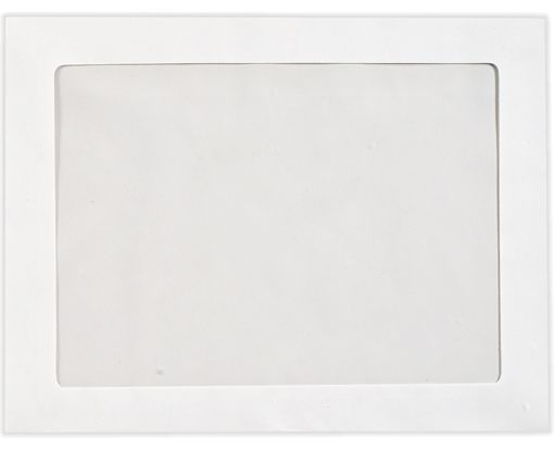 9 1/2 x 12 1/2 Full Face Window Envelopes 28lb. Bright White
