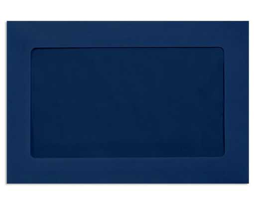 6 x 9 Full Face Window Envelopes Navy