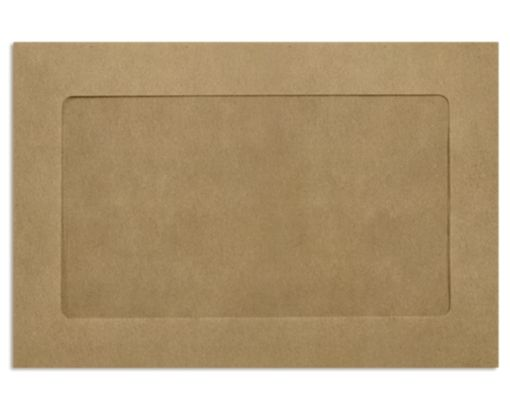 6 x 9 Full Face Window Envelopes Grocery Bag