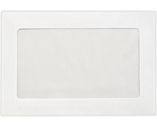 6 x 9 Full Face Window Envelopes 28lb. Bright White