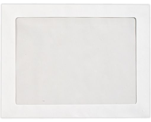 8 3/4 x 11 1/2 Full Face Window Envelopes 28lb. Bright White